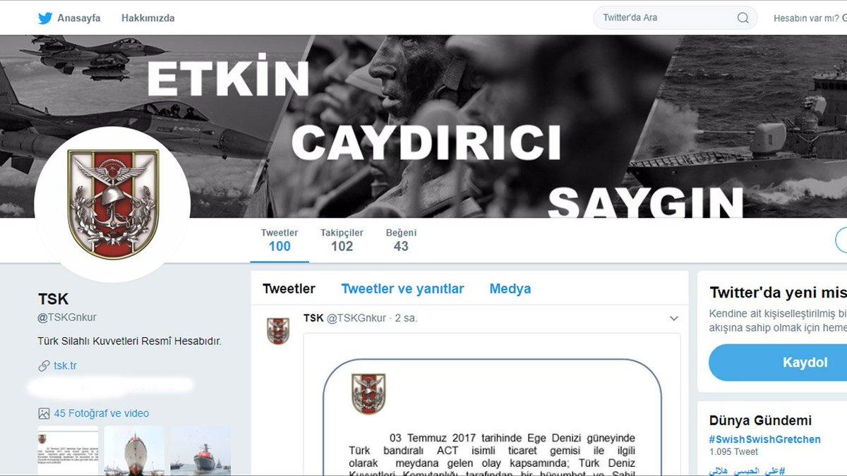 Twitter türk paylaşım