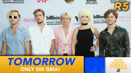 Start your Fourth of July with a LIVE performance by @officialR5 on @GMA tomorrow https://t.co/YSwcqNBnsl