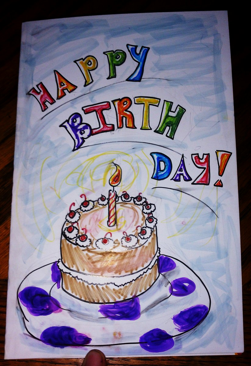 Tylar Ingles On Twitter I Made My Friend A Birthday Card