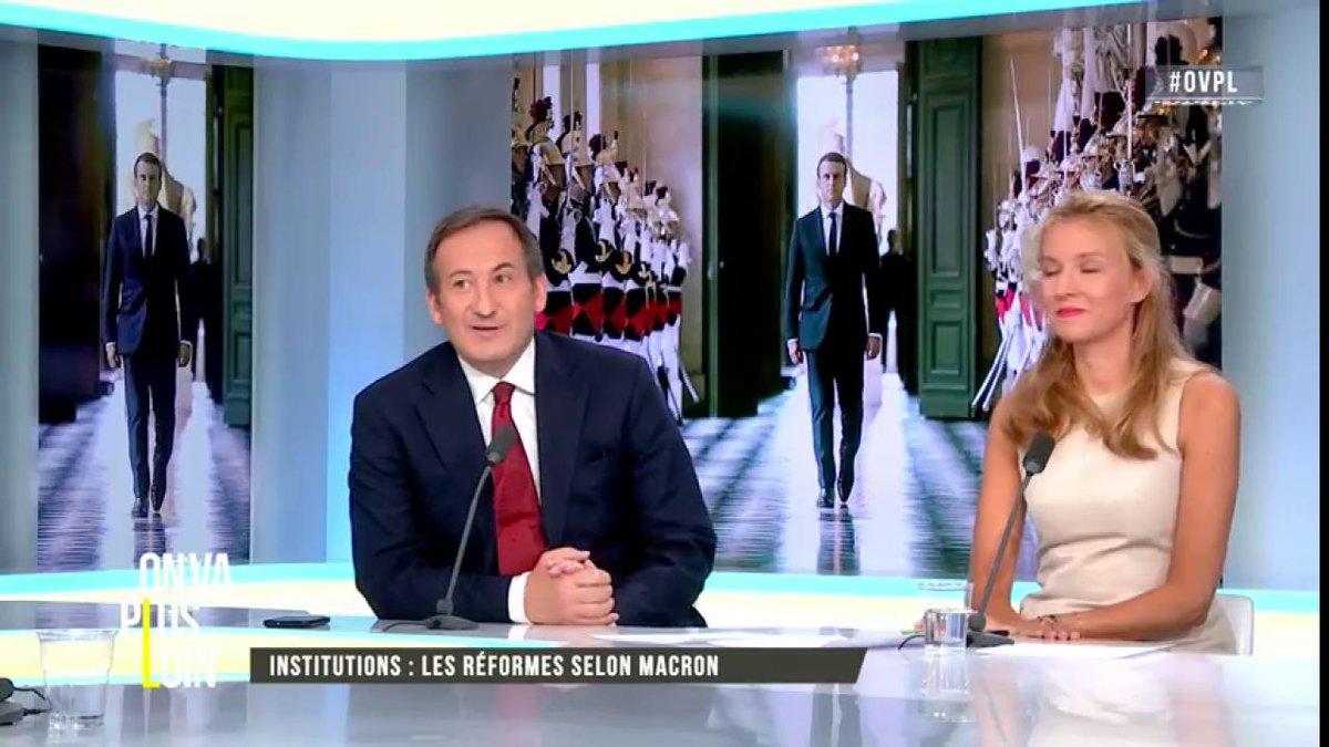 #OVPL @GTabard : on peut comparer #Macron à #VGE #CongrèsVersailles