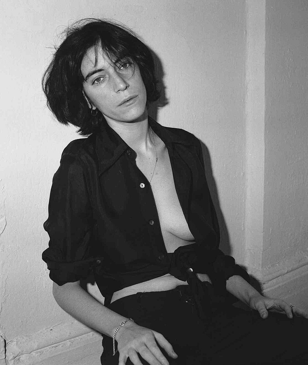 "Brian Eno on Twitter: ""Patti Smith, 1974 by Frank Stefanko ..."
