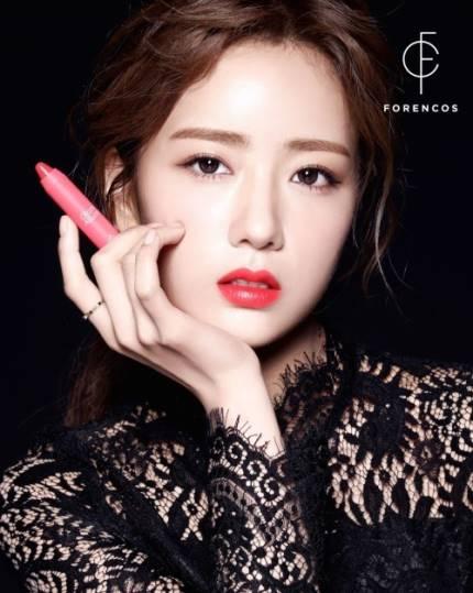 APINK Bomi for makeup brand 'FORENCOS'