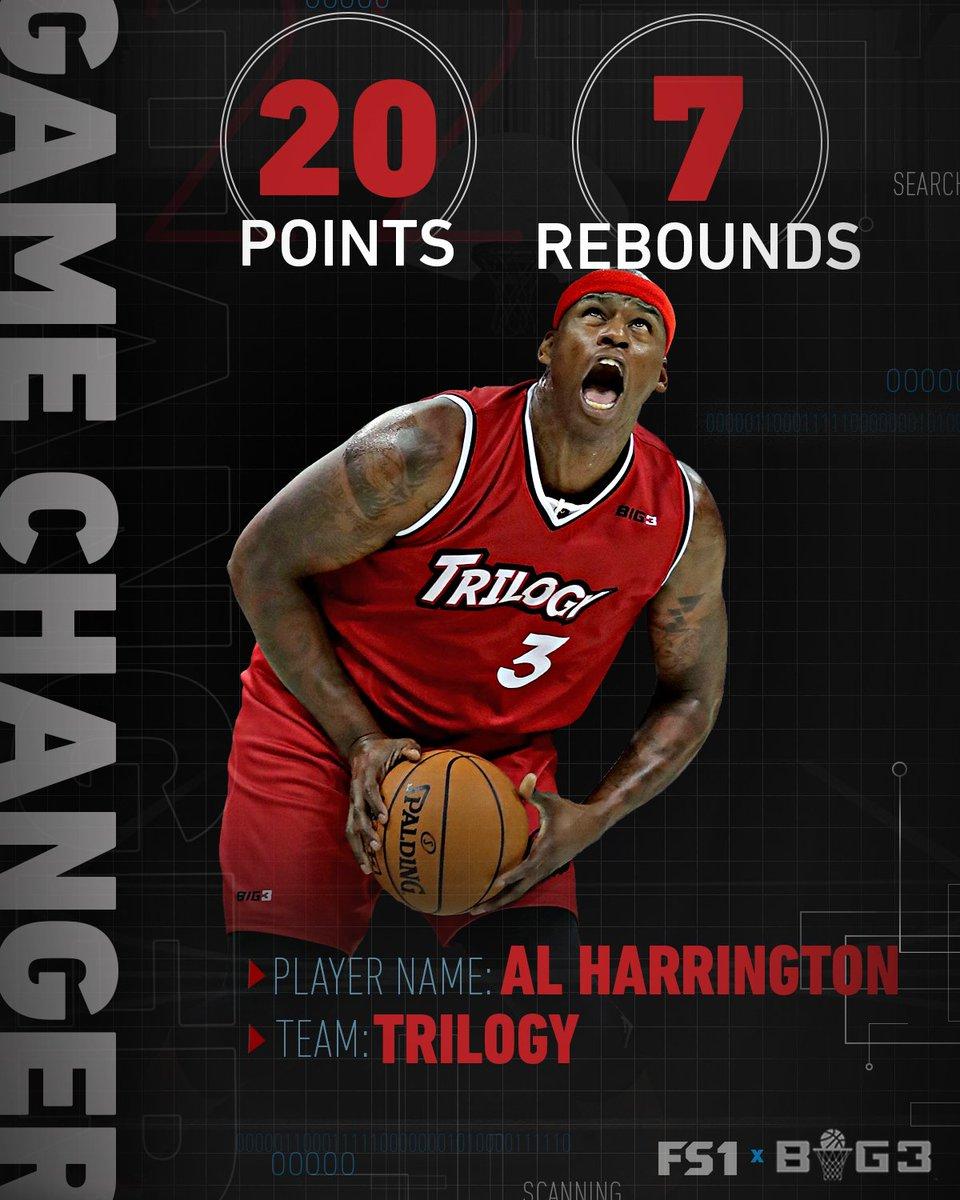 "FS1 on Twitter ""Can t stop Al Harrington GameChanger s t"