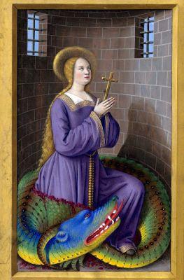 Peintures &gt; Jean Bourdichon - Saint Margaret and the Dragon 1 =&gt;  http:// bit.ly/2tk0TYm  &nbsp;   #peintures <br>http://pic.twitter.com/VQ5NBODm7O