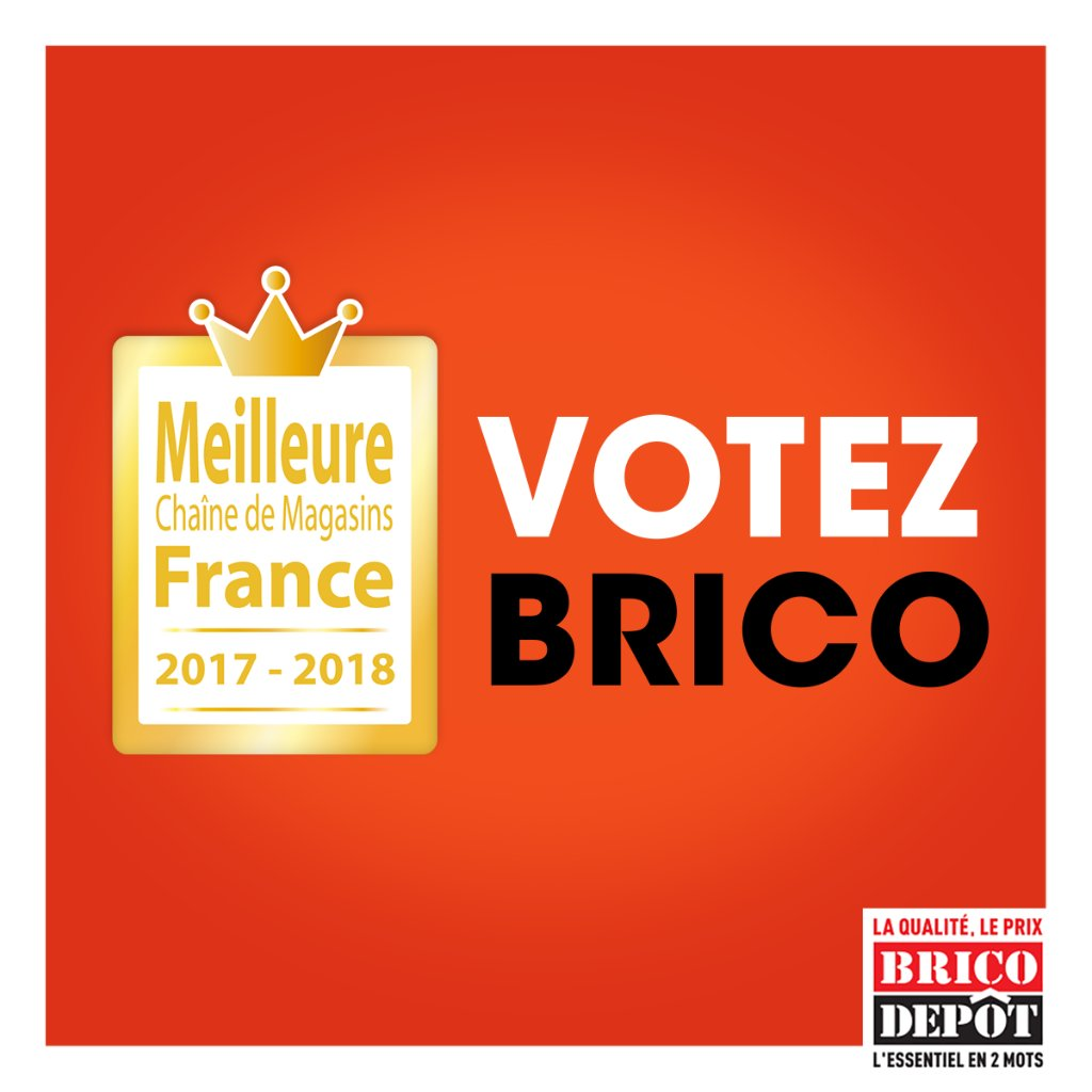 Brico d p t bricodepot twitter for Brico depot siege