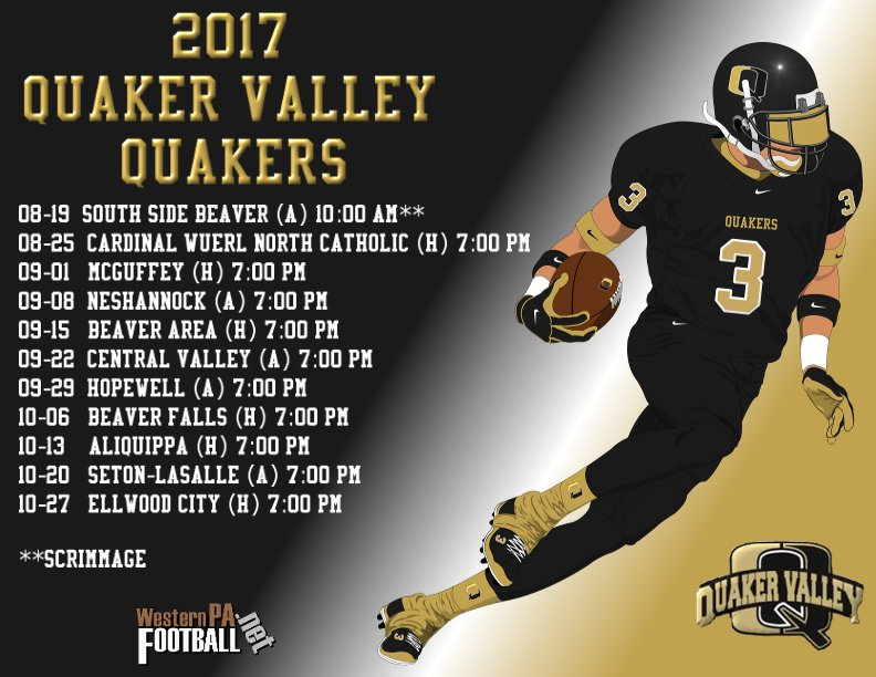 Football midget quaker valley