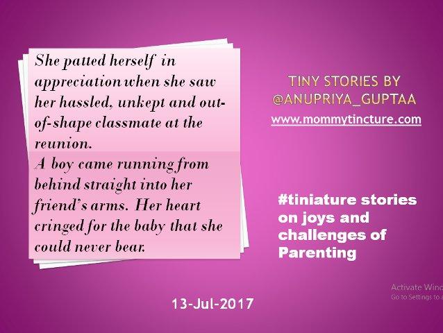 #Tiniature #tinystories @gayatri_gadre @blogchatter https://t.co/3GIQQRgsoI