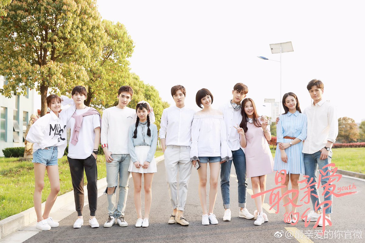 """c-drama tweets on Twitter: """"Chinese remake of #AgeofYouth, simply ..."""