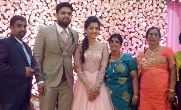 Rakshit Shetty-Rashmika engagement a star-studded affair