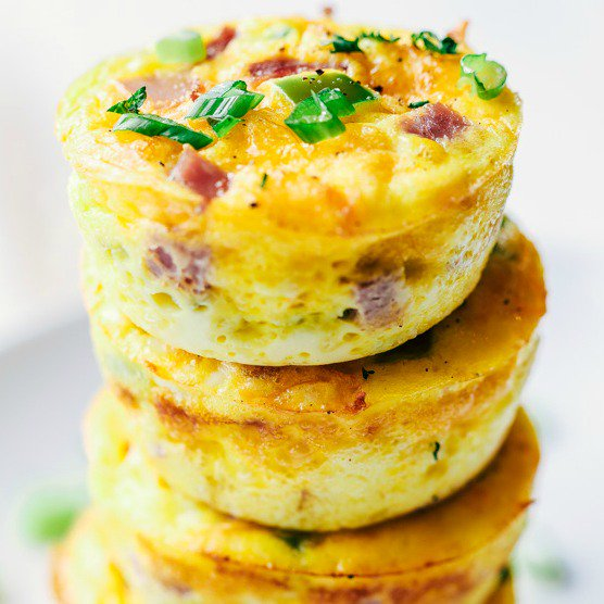 Denver Omelet Breakfast Muffins