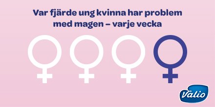 Var fjärde ung kvinna har problem med magen – varje dag, enligt #Magrapporten 2017. #lugnamagen #almedalen #hälsodalen https://t.co/lwH7Wyn68o