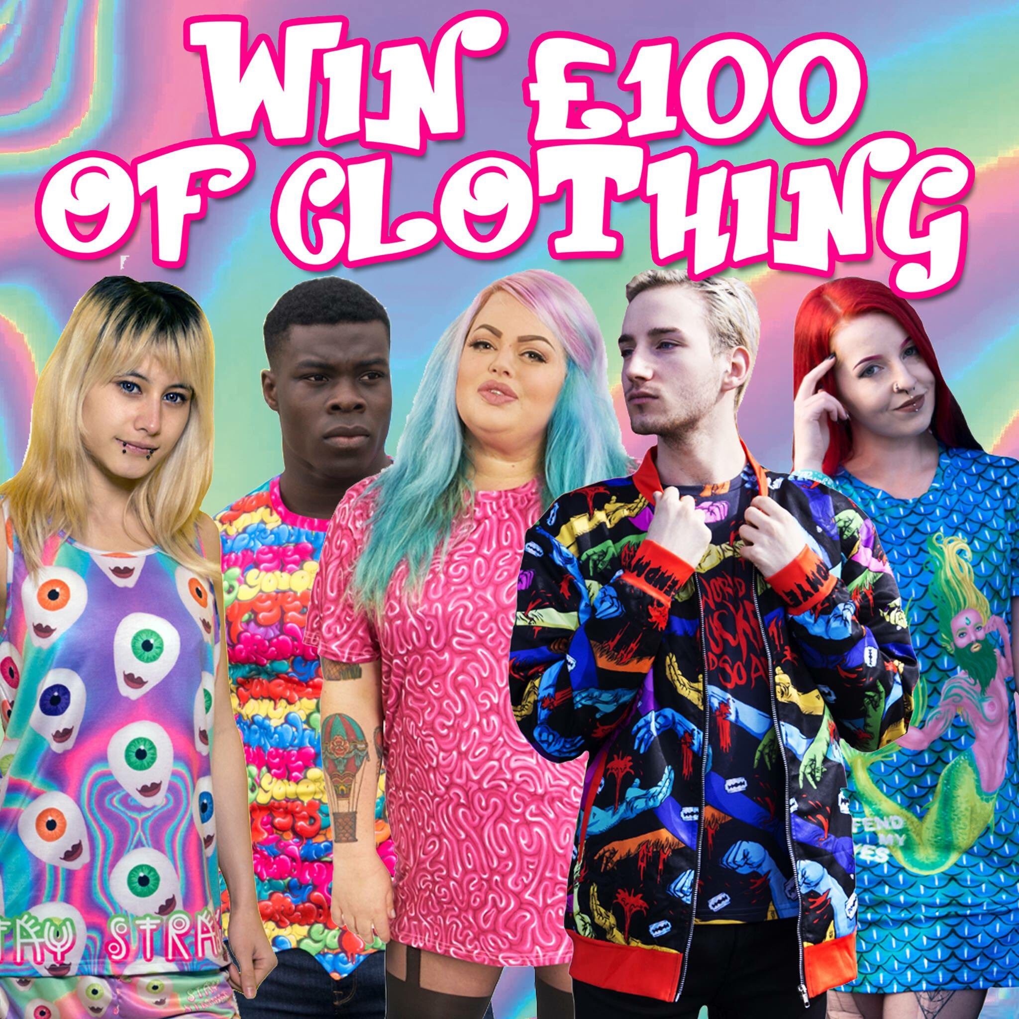 RT @OffendMyEyes: Who wants to win £100 worth of clothing for just £1?  Enter now! 🎁  ➡️ https://t.co/z7J048vCoZ ⬅️ https://t.co/6O9zWZy7zk