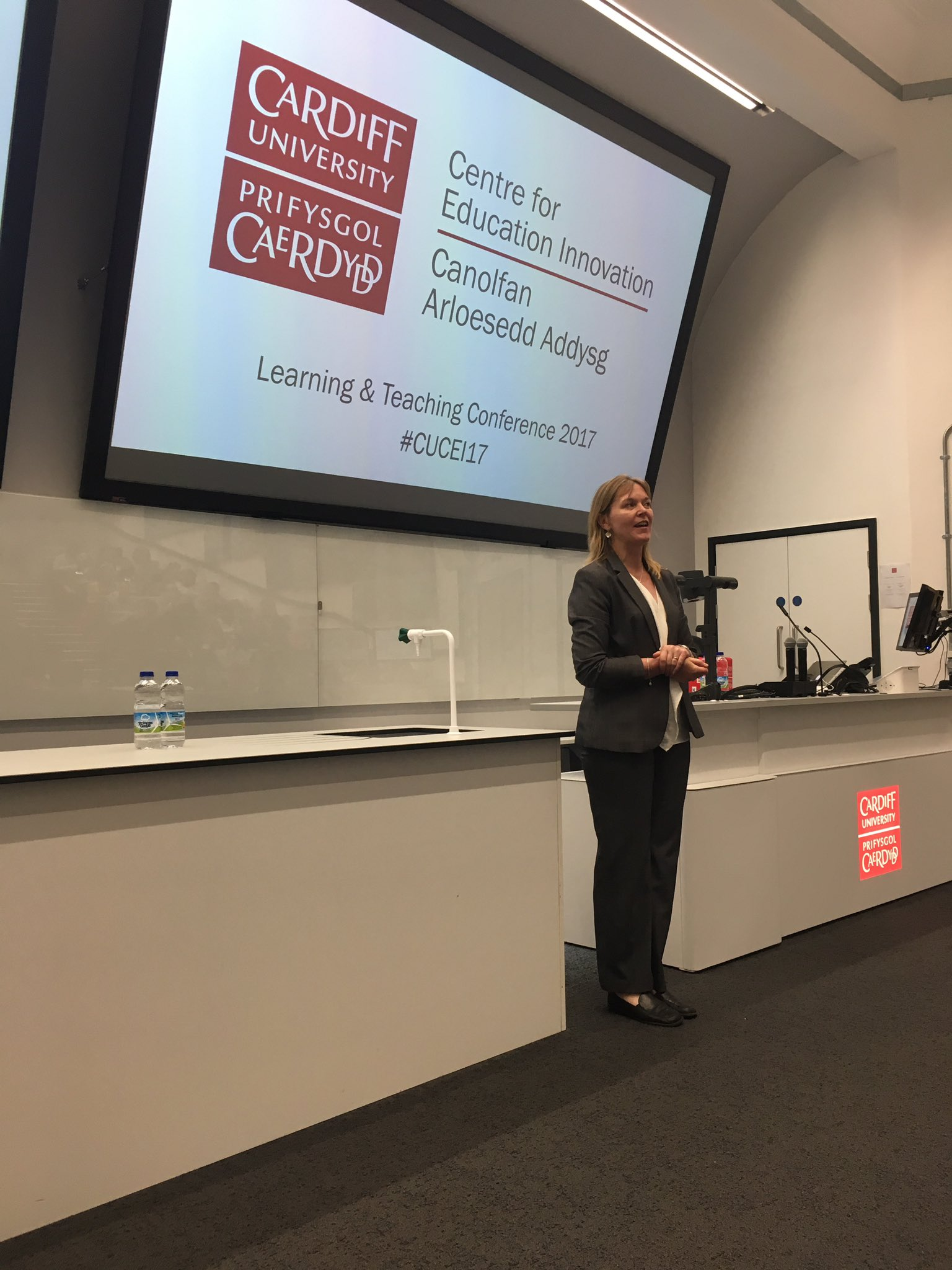 And we're off-Prof Amanda Coffey introduces the day #CUCEI17 https://t.co/y00ptm8OLx