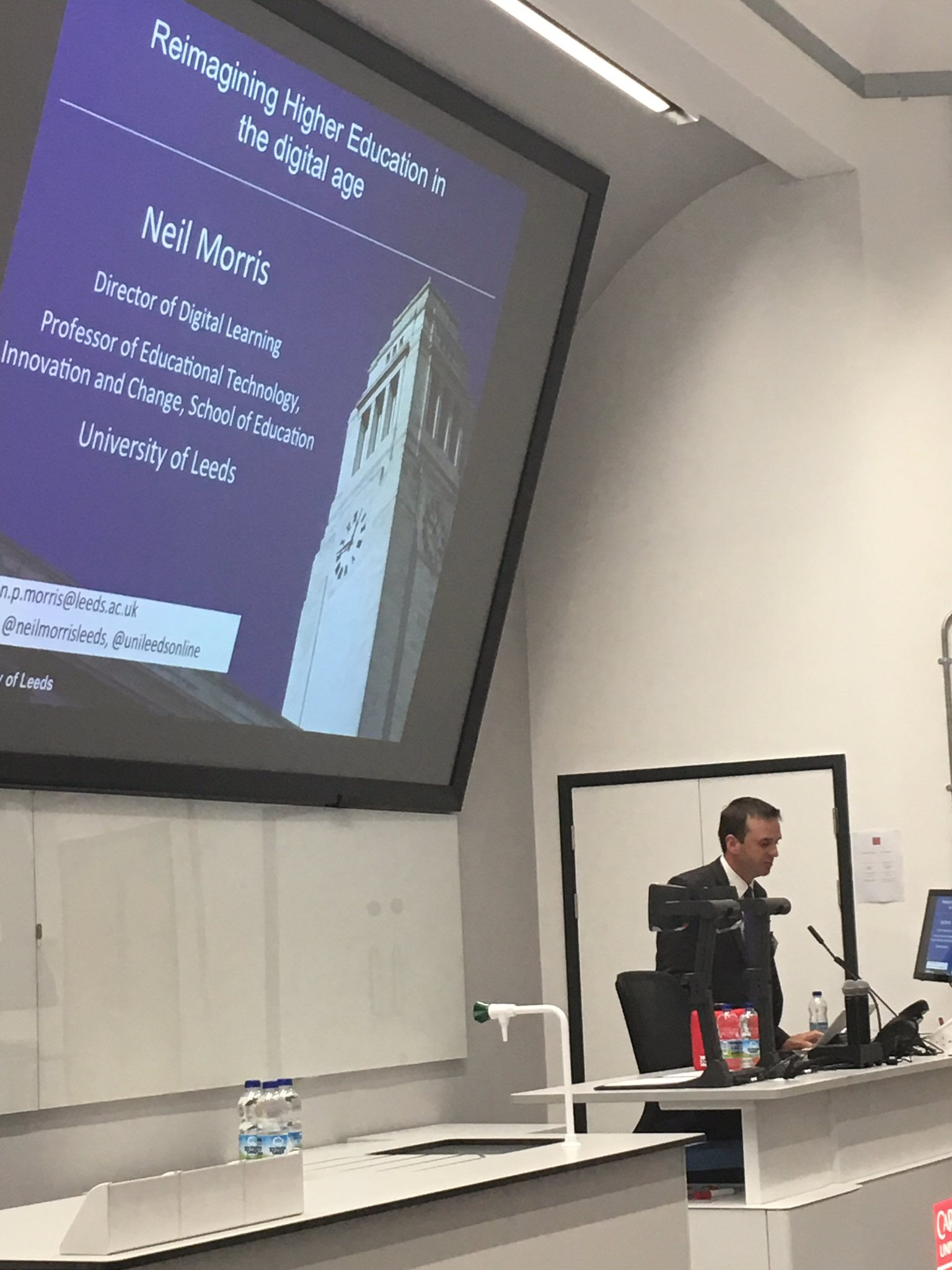 Stimulating, inspiring and challenging how digital is being embedded into HE @NeilMorrisLeeds #CUCEI17 @cardiffuni https://t.co/aOPRnTSOy4