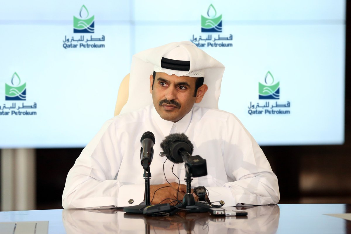 "Qatar Petroleum on Twitter: ""Mr Saad Sherida Al-Kaabi: The new project will further enhance #Qatar's leading position in the global #gas industry https://t.co/488qgZzeG1… https://t.co/0qb813MRsR"""