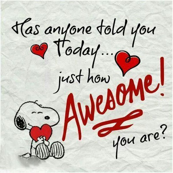 Yes, you really are AWESOME!!!!  #bankruptcy
