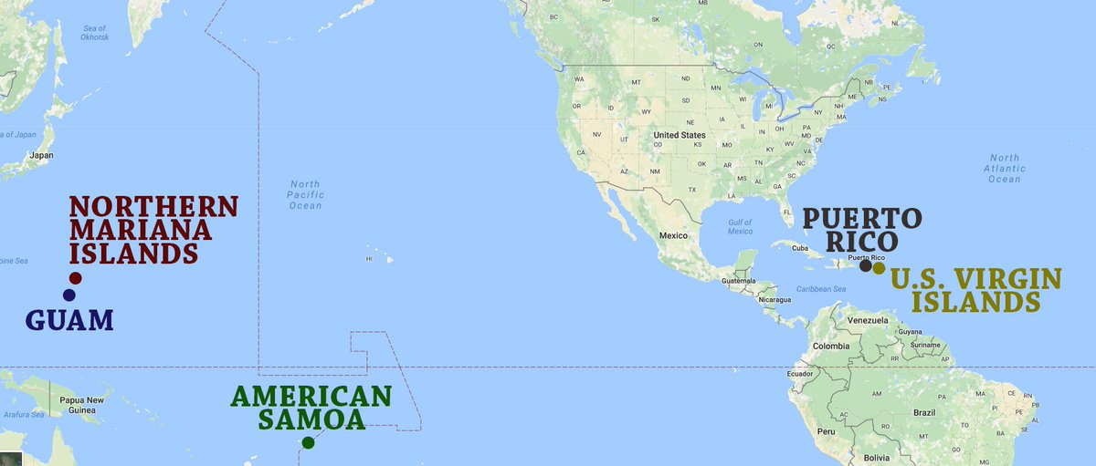Doug Mack On Twitter We Have Territories With Million - Map us territories guam puerto rico