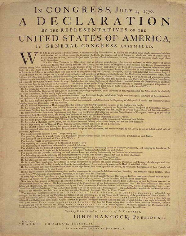 a history of the declaration of war by the colonies on britain Rough draft of the declaration colonies alone the seven years' war (known in america as the french and indian war) changed everything although britain.