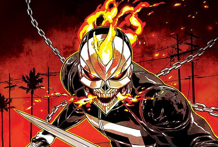 Comicbook Now On Twitter Robbie Reyes All New Ghost Rider