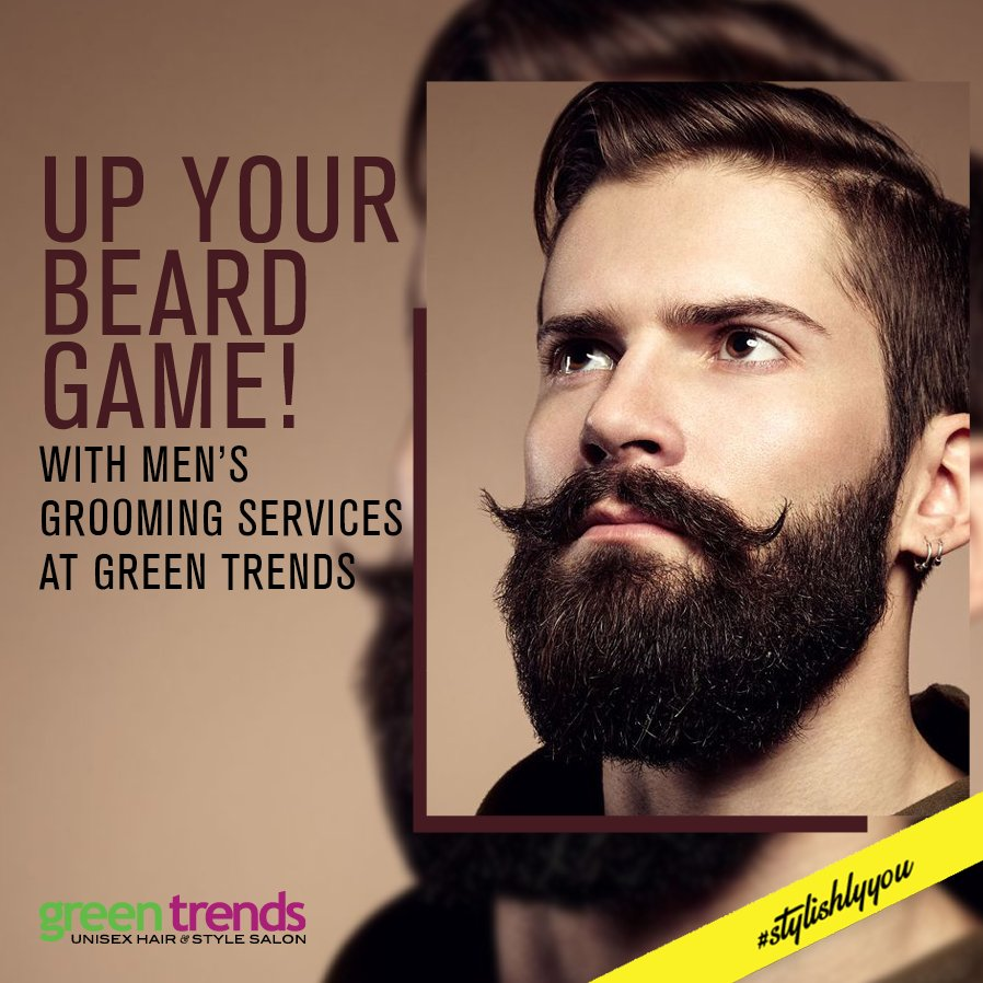Green Trends On Twitter Heymen Its Time To Change Your Style - Green trends change of hairstyle