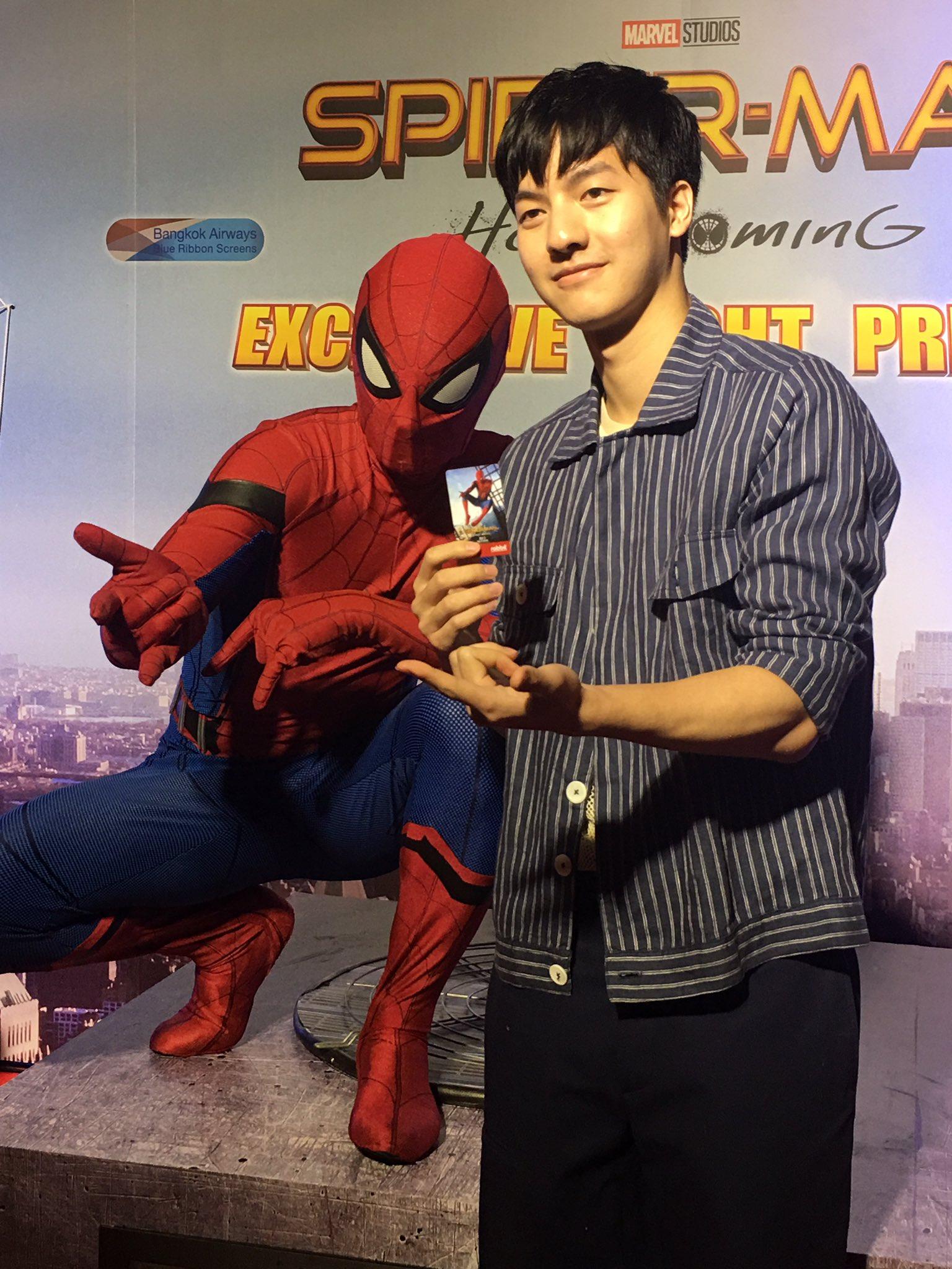 คุณแก๊ปปปป #kittiGap   #conversationthailand #SpiderManHomecomingth https://t.co/RB16tgTx8i