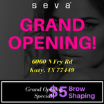 Congratulations to our latest #SevaBeauty studio Grand Opening located at 6060 N Fry Rd Katy, TX 77449