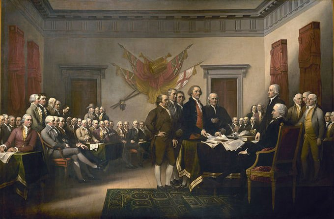 Happy Independence Day! On July 4, 1776, the Continental Congress adopted the Declaration of Independence. https://t.co/dFSuRF4Ds4