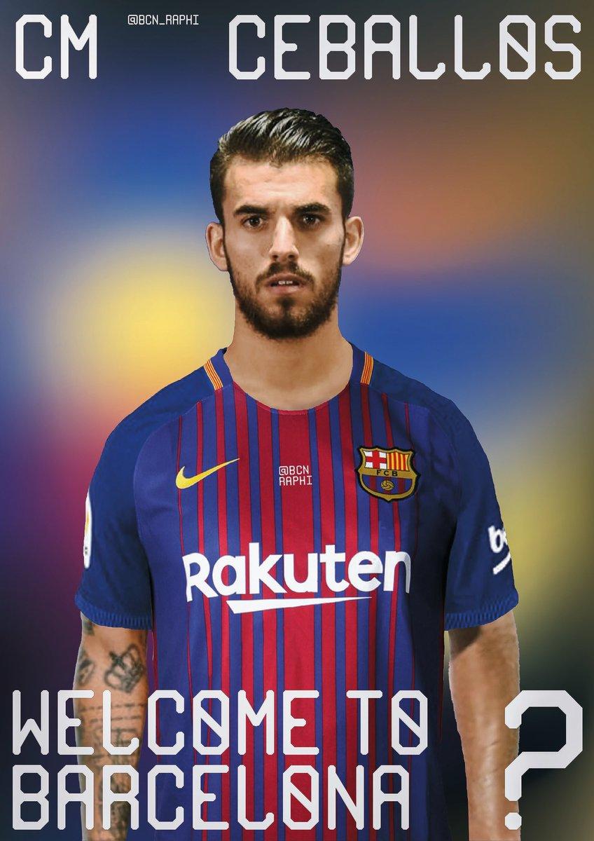 Dani Ceballos to Barca   TransferRumors Ceballos told close relatives he  would prefer a move to Barça rather than Real Madrid.pic.twitter .com Ews3hVje8A 9f2bf508c