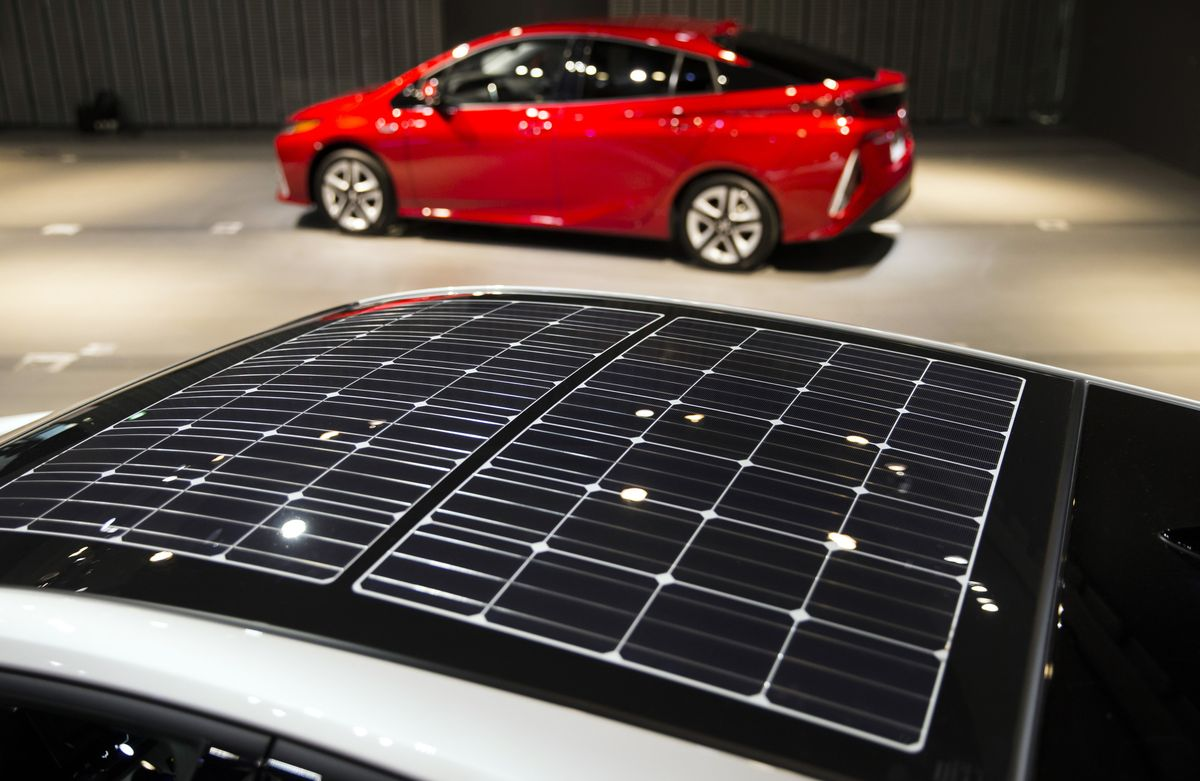 Bloomberg Technology On Twitter Panasonic Sees The Future Of Solar Toyota Prius Moonroof Car Rooftops Https Tco Vmxamqkdlq