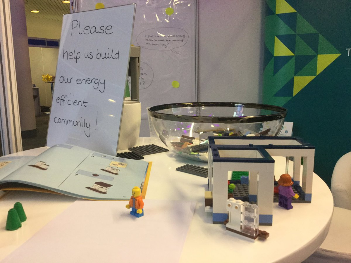 The lego is proving quite challenging! Come and help us on stand C13 #LGAConf17