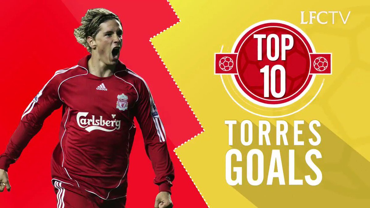 ⚽️⚽️⚽️⚽️⚽️⚽️⚽️⚽️⚽️⚽️  @Torres turns 3️⃣5️⃣ today. Any excuse to look back at El Niño's top 10 goals for the Reds...