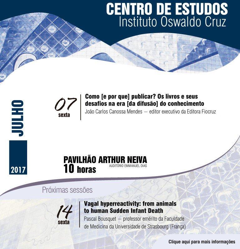 #FiqueLigado: Centro de Estudos do IOC aborda o tema 'Como e por que publicar?'