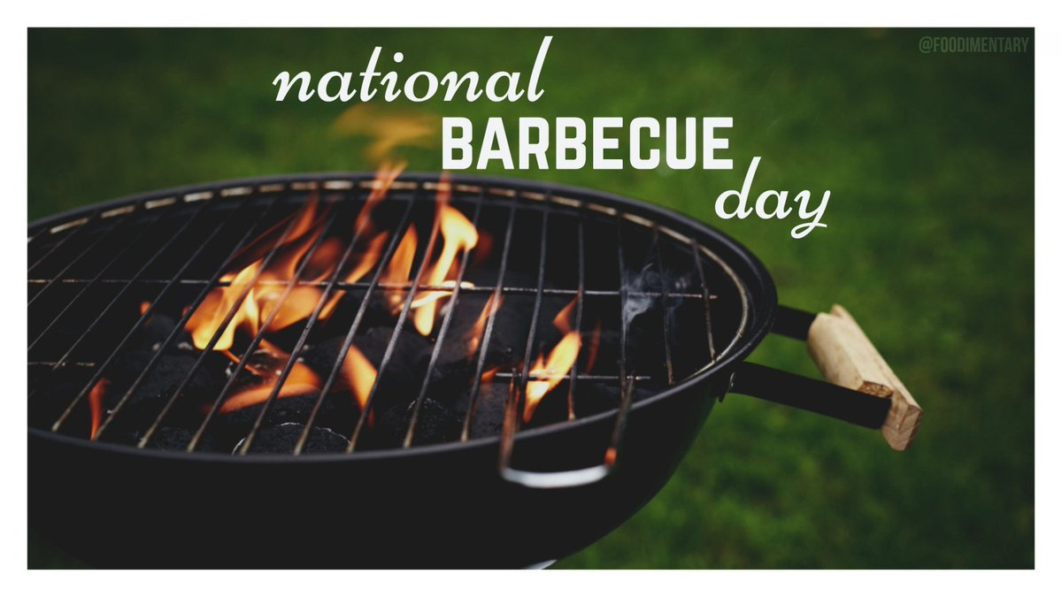 July 4th is National Barbecue Day  https:// foodimentary.com/2017/07/04/jul y-4th-is-national-barbecue-day/ &nbsp; …   &quot;Happy 4th of July&quot; #NationalBBQDay <br>http://pic.twitter.com/iLR6oyQ5ie