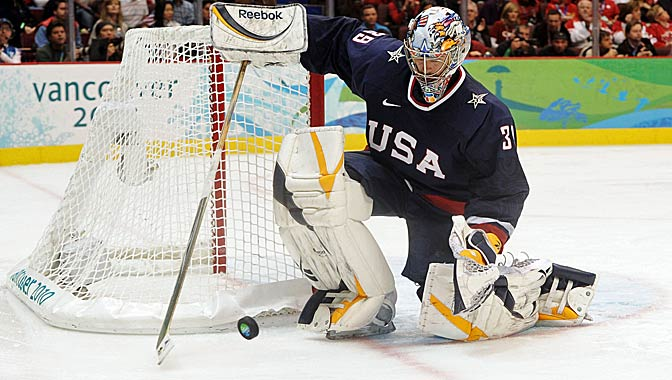 "Tendy Gear on Twitter: ""Ryan Miller Team USA Olympics 2010 Reebok X-pulse  pads with P3 gloves #4thofJuly… """