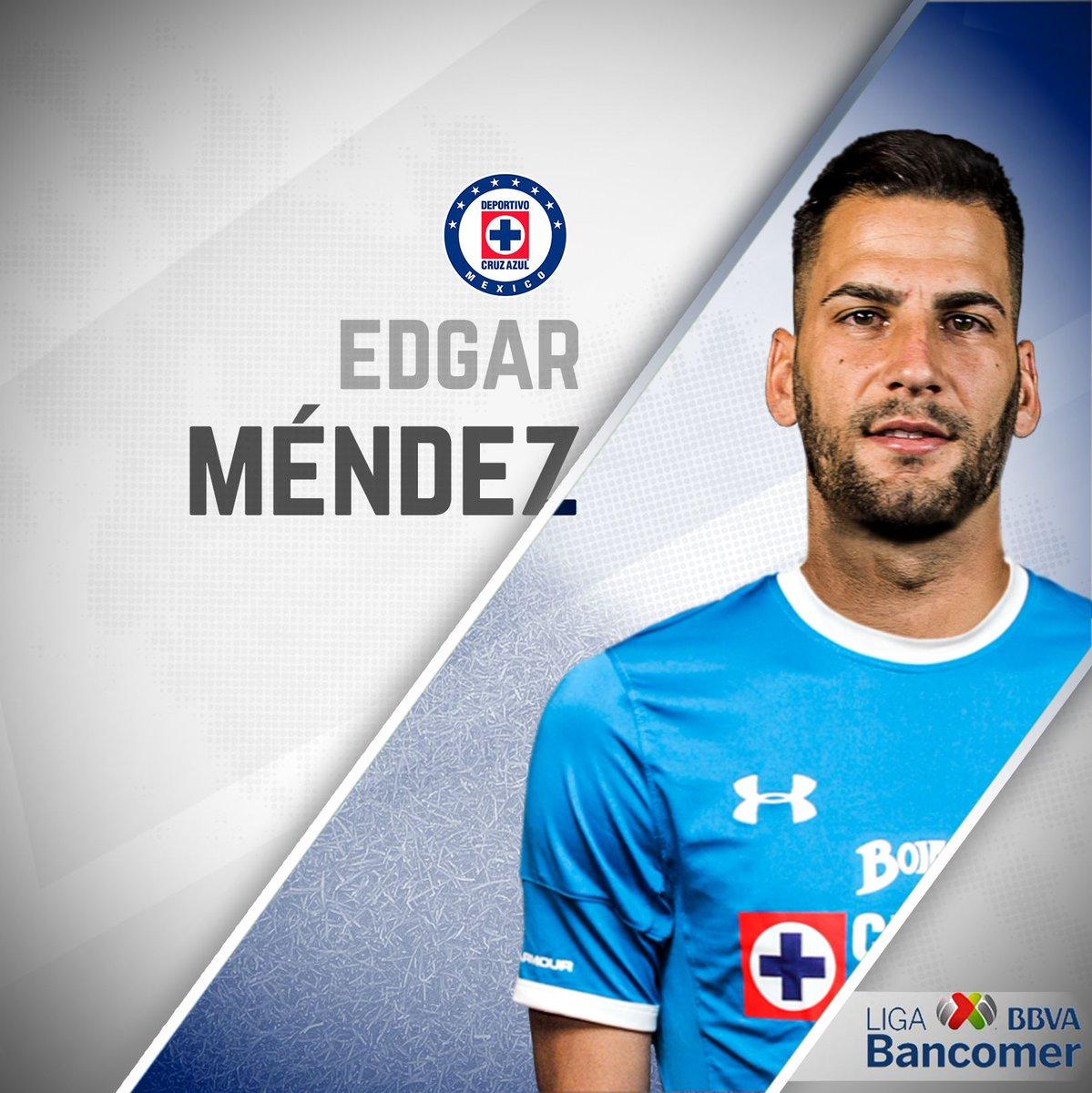 Edgar Méndez se incorpora de cara al Apertura 2017. 🇪🇸 ¡Bienvenido a La Máquina! 🚂 https://t.co/VzTlhpBKvv