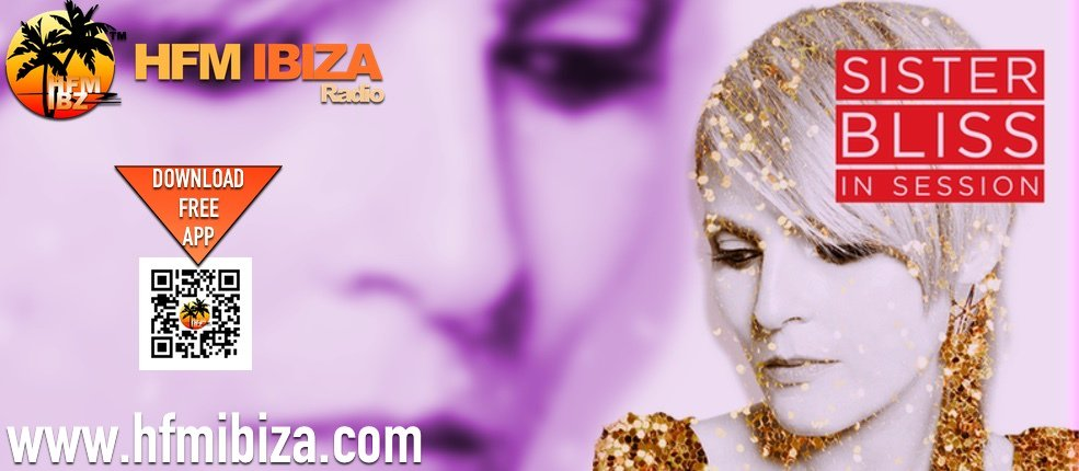 Listen to #thesisterbliss - #InSession #radio show #now on  http:// hfmibiza.com  &nbsp;   • #ibiza #np #now<br>http://pic.twitter.com/kR3U9SAplz