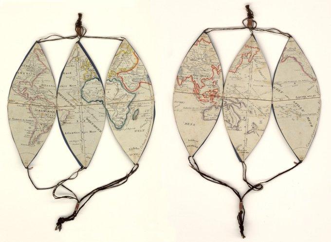 Mechanischer Welt Globus zum Gebrauche des kleinen Geographen