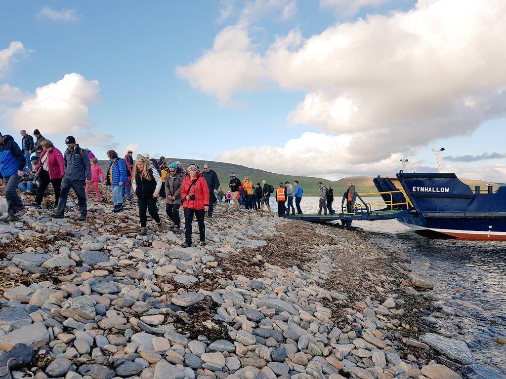 islas Orkney Orcadas Eynhallow Gran Bretaña