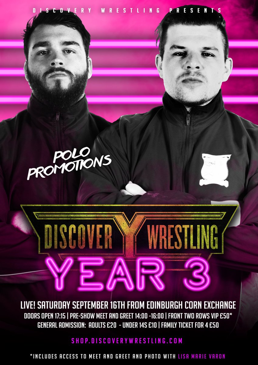 Discovery Wrestling On Twitter Returning For Our Third Anniversary