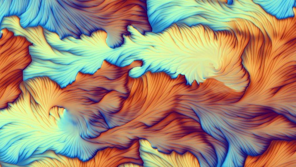 The Shader of the Week is 'Suture Fluid', by cornusammonis: https://t.co/FwGevzYutA