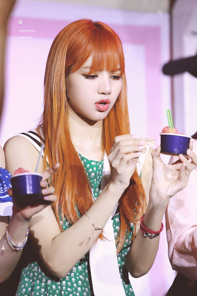 Lisa Pics On Twitter Hq Pictures Of Lisa At Blackpink Ice Cream Event C Coloringthecage Https T Co Udhiomidc7