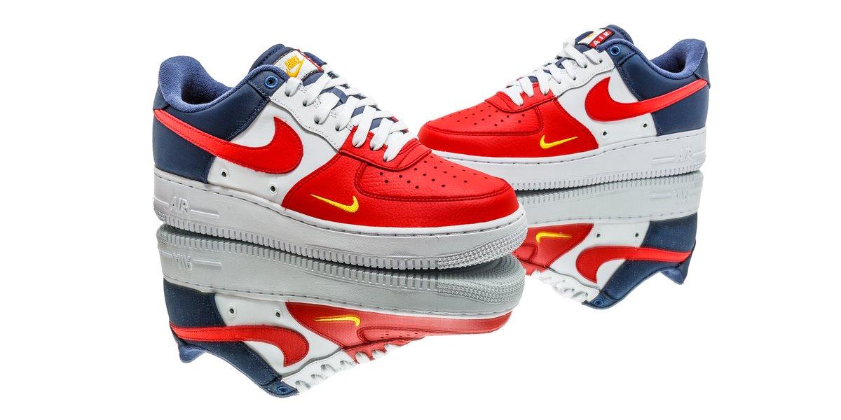 Nike Air Force De Jour De Lindépendance Mot Blanc