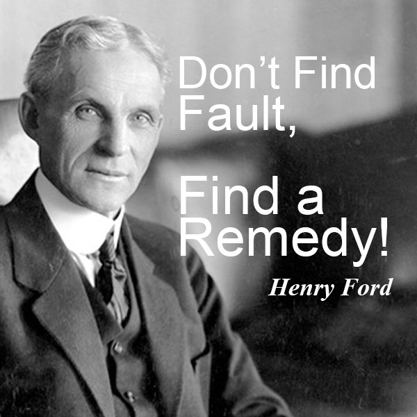 Henry Ford Thought it was better to Fix than Blame. I agree. You can always blame later LOL https://t.co/oW7kzHI408 #socialMedia