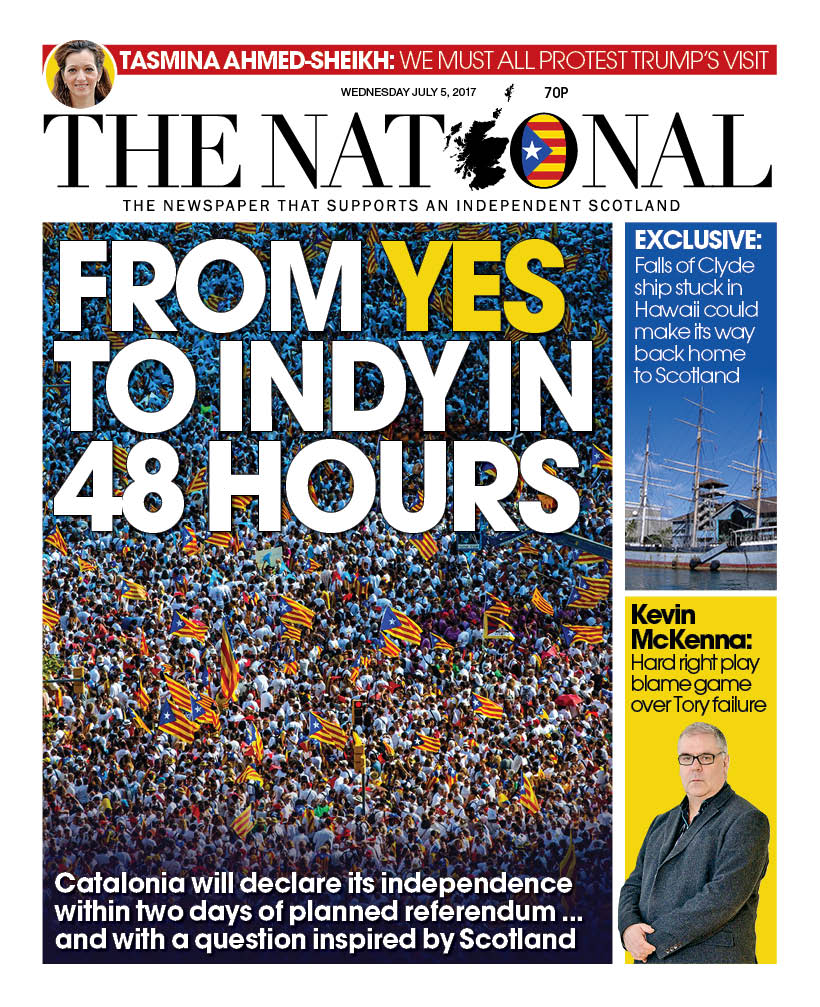 Resultat d'imatges de portada the national from yes to indy