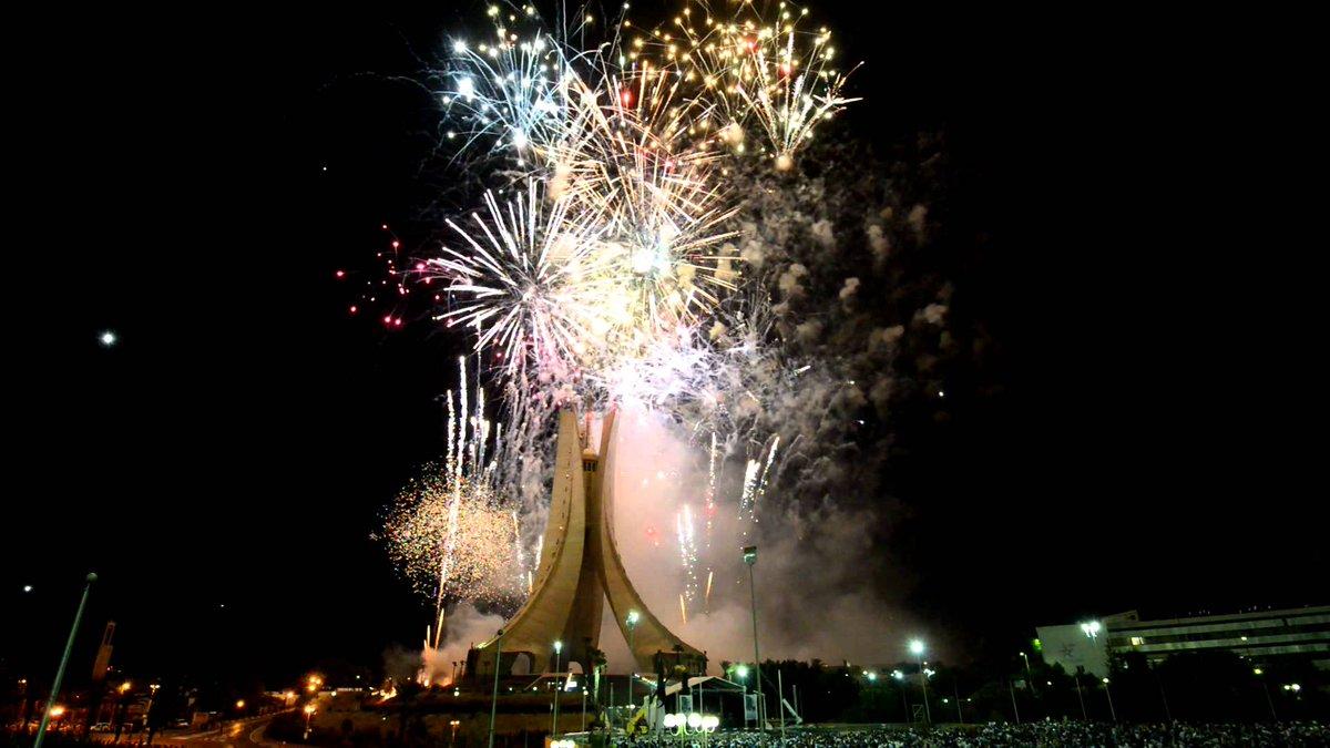 Happy independence day Algeria  !   #عيد_الاستقلال  #Algérie #الجزائر  #الخامس_جويليه_كن_جزايريا  #5juillet1962  <br>http://pic.twitter.com/xnAdrV6dvU