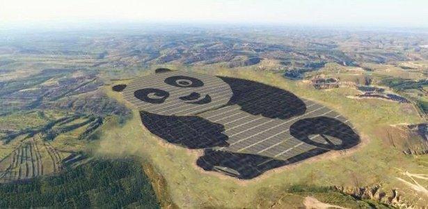 China inaugura estação de energia solar em forma de panda https://t.co/Kttk3UMnuM