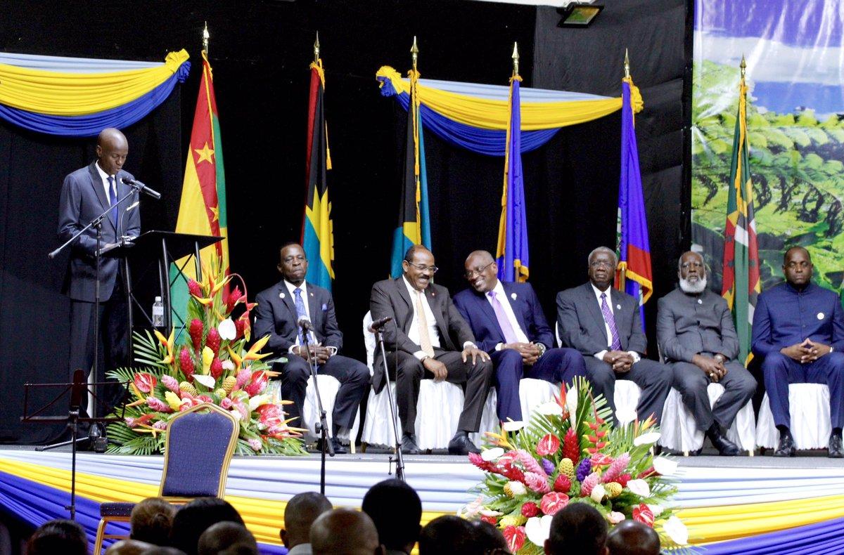 Résultats de recherche d'images pour «Jovenel Moise à la 38e reunion de la Caricom»