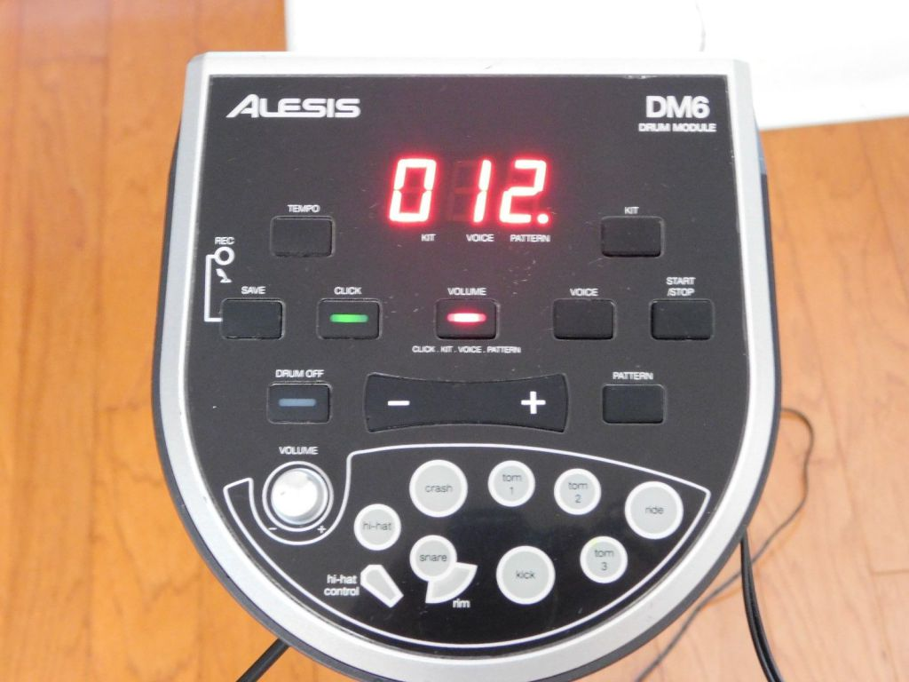 Alesis Dm6 drum Module manual