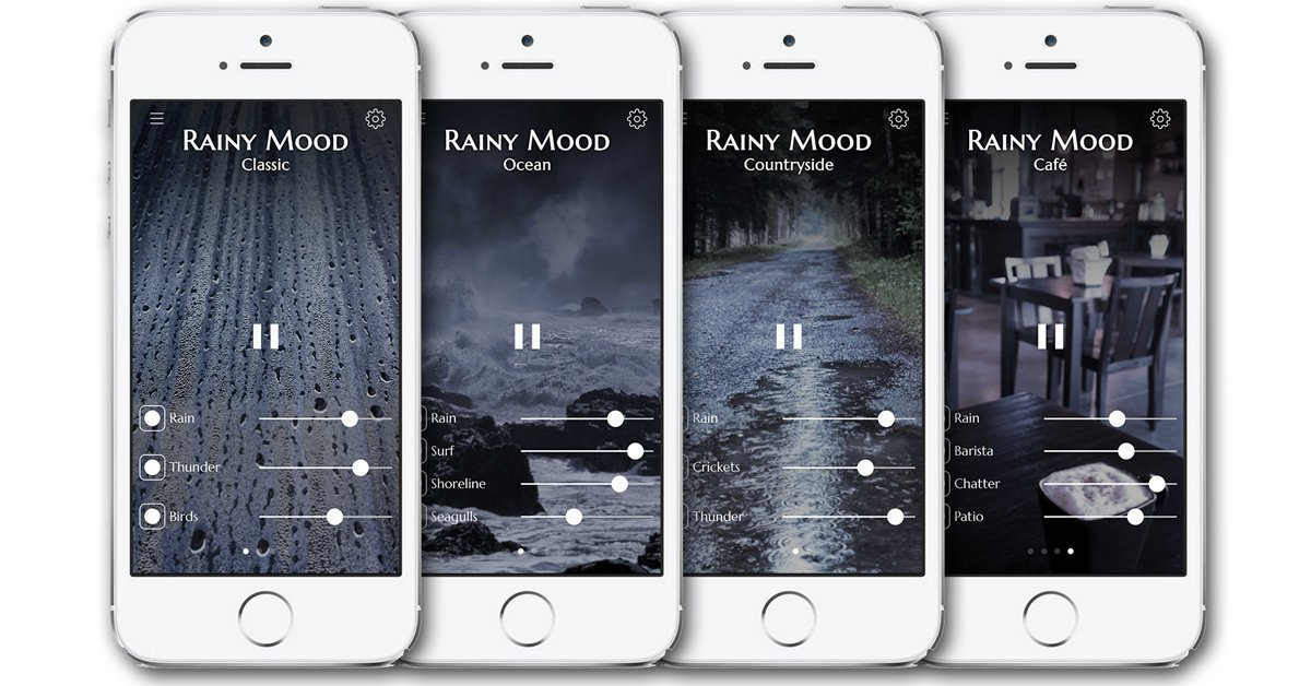 It's raining! https://t.co/bK8PYLMKVs helps you to focus, relax, and sleep.