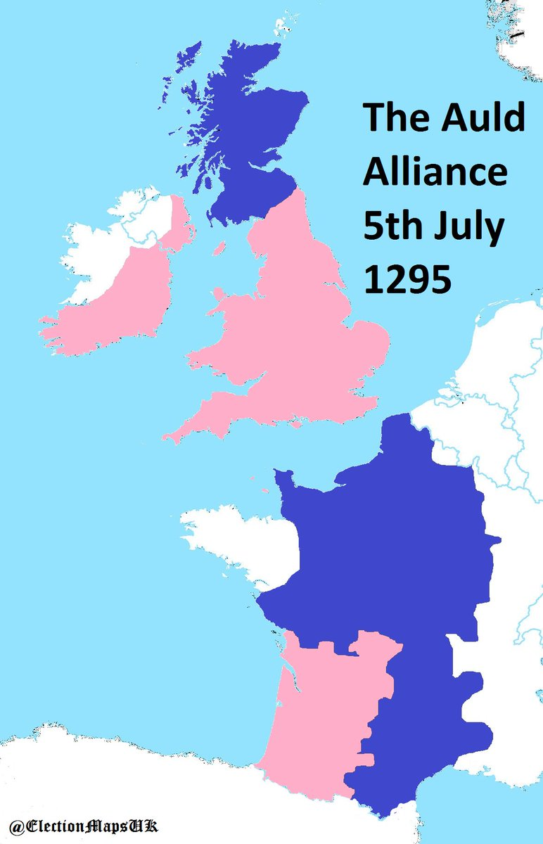 Map Of France England And Scotland.Election Maps Uk On Twitter My Oldest Political Map So Far On